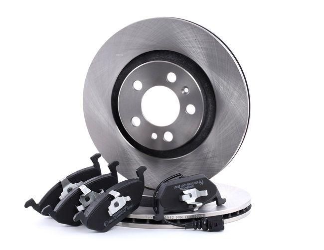 OEM Brake Set, disc brakes RIDEX 3405B0007