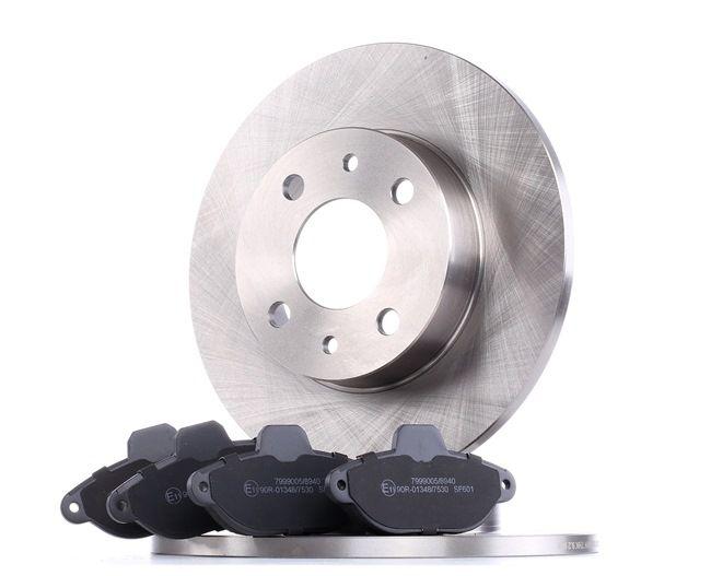Brake Set, disc brakes 3405B0042 PANDA (169) 1.2 MY 2019