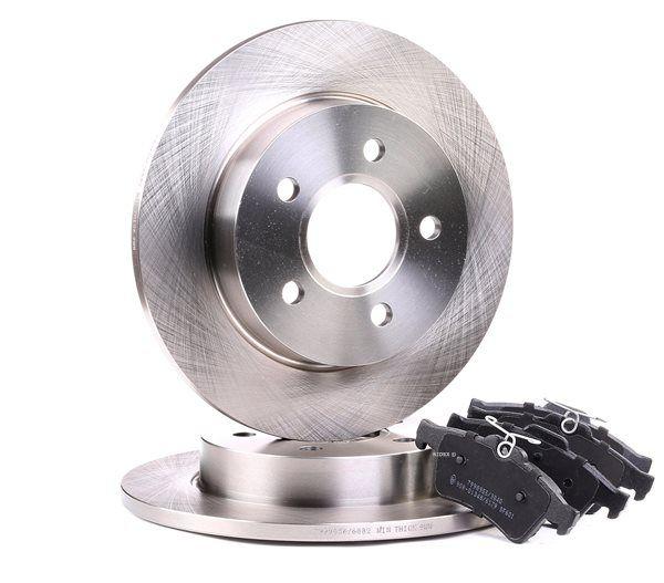 OEM Brake Set, disc brakes RIDEX 3405B0040
