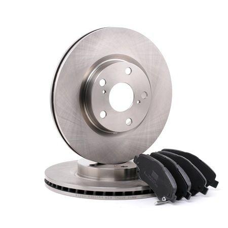 RIDEX Vorderachse, belüftet, mit akustischer Verschleißwarnung 3405B0114