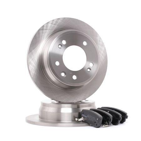 OEM Brake Set, disc brakes RIDEX 3405B0066