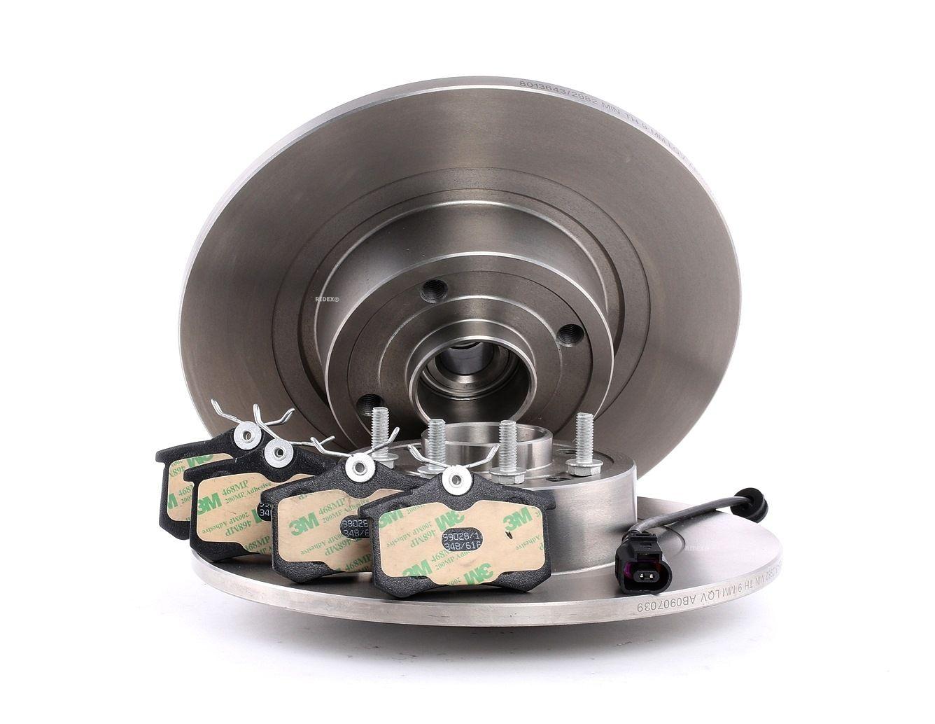 Bremsensatz, Scheibenbremse RIDEX 3405B0120 Bewertung