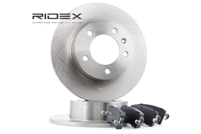 RIDEX Hinterachse, Voll 3405B0179