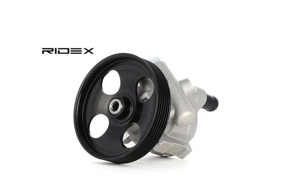 RIDEX hydraulisch, Rippenanzahl: 5, Riemenscheiben-Ø: 126mm 12H0006