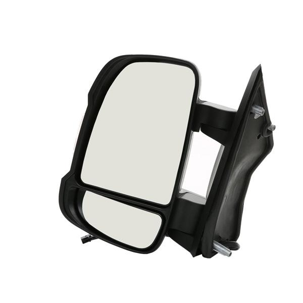 RIDEX Vnější zpětné zrcátko FIAT levá, elektrický, vyhřívaná, Kompletní zrcátko, s širokoúhlým zpětným zrcátkem, krátké raménko zrcátka, konvexní