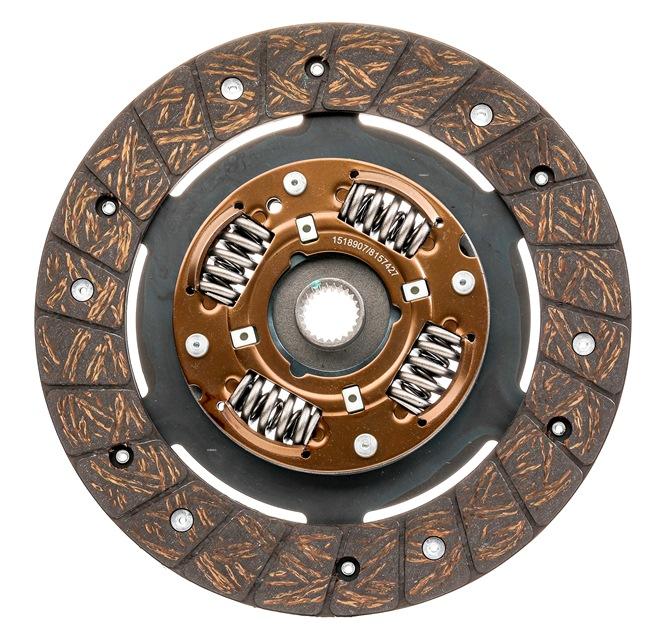 OEM Clutch Disc RIDEX 262C0004