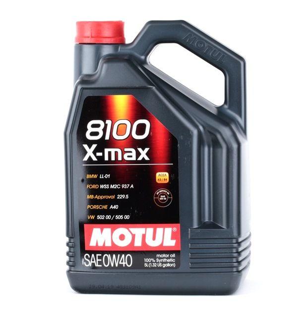 MB 229.5 0W-40, Contenuto: 5l, Olio sintetico