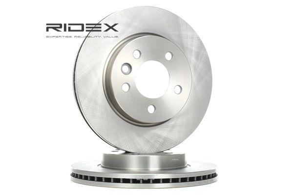 RIDEX Vorderachse, Innenbelüftet, ohne Radbefestigungsbolzen, ohne Radnabe 82B1143