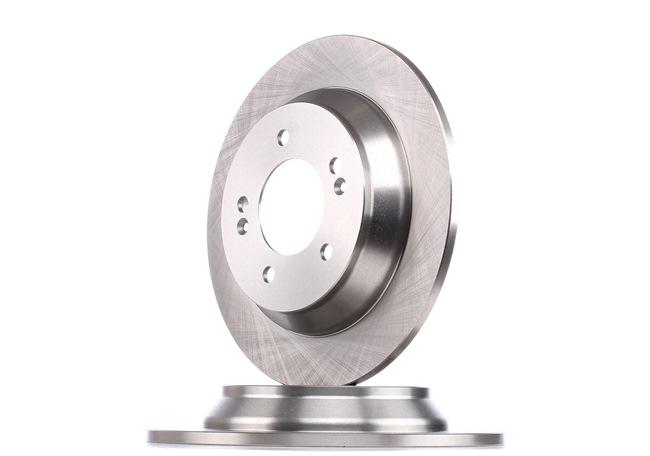 Frenos de disco RIDEX 8157784 Eje trasero, Macizo, sin buje de rueda, sin perno de sujeción de rueda