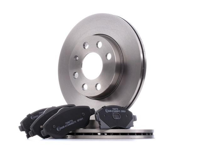 Bremsensatz, Scheibenbremse Bremsscheibendicke: 20mm mit OEM-Nummer 09 200 108