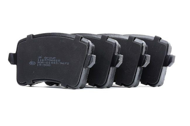 Bremsbelagsatz, Scheibenbremse Dicke/Stärke: 17,7mm mit OEM-Nummer 8K0 698 451E