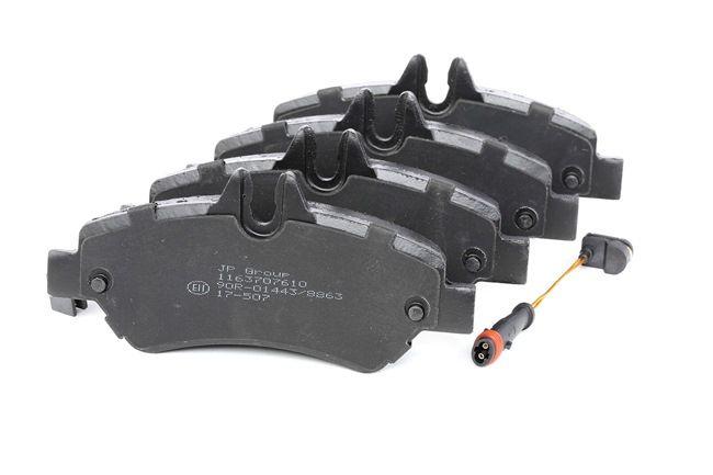 Bremsbelagsatz, Scheibenbremse Dicke/Stärke: 19,8mm mit OEM-Nummer A 004 420 6920