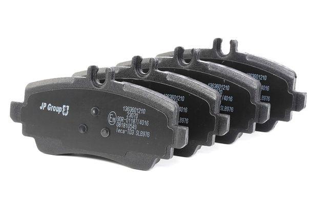 OEM Brake Pad Set, disc brake JP GROUP 1363601219 for MERCEDES-BENZ