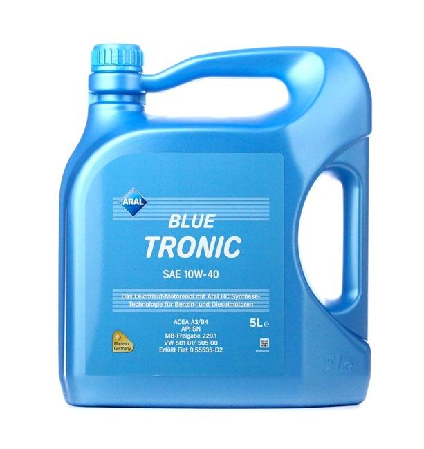 Olio auto 10W-40, Contenuto: 5l, Olio parzialmente sintetico EAN: 4003116204856