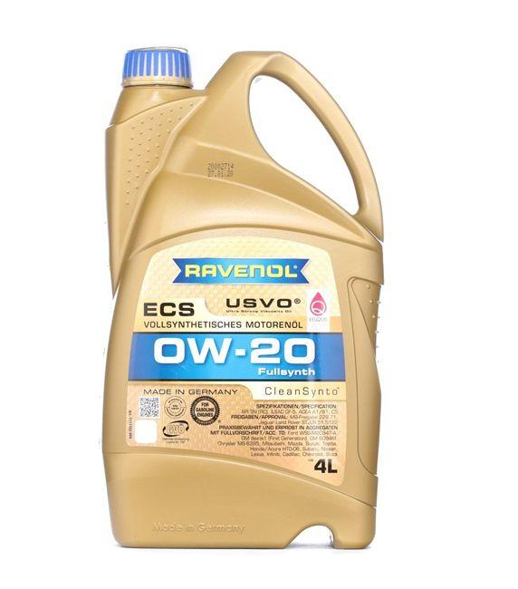 Olio auto 0W-20, Contenuto: 4l, Olio sintetico EAN: 22108314083749408374