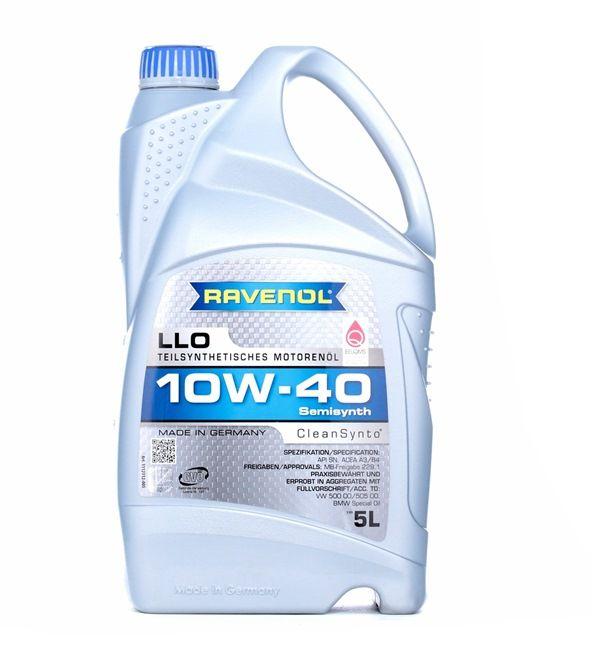 Olio auto 10W-40, Contenuto: 5l, Olio parzialmente sintetico EAN: 22108314083961408396