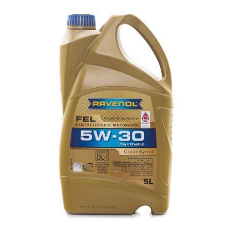 RAVENOL Olio auto FORD WSS-M2C913-C 5W-30, Contenuto: 5l