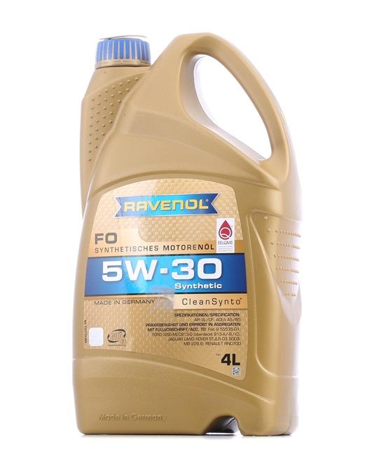 Двигателно масло 5W-30, съдържание: 4литър, Масло напълно синтетично EAN: 22108314083777408377