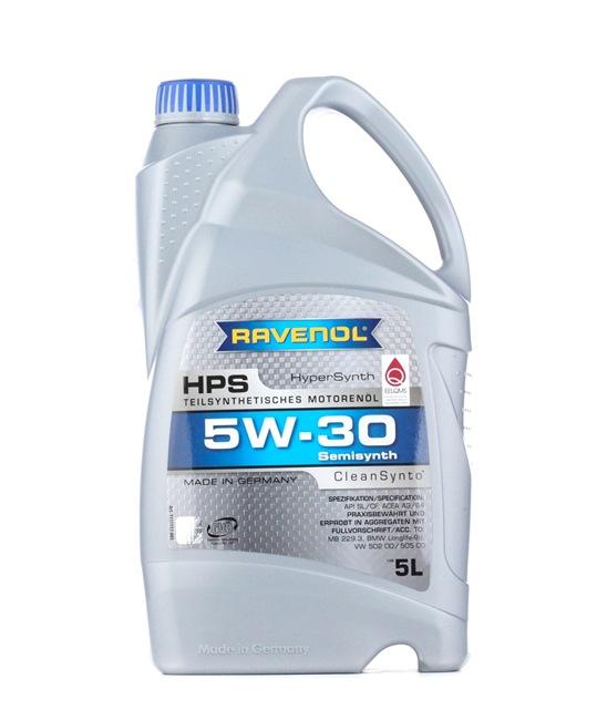 Olio auto 5W-30, Contenuto: 5l, Olio parzialmente sintetico EAN: 22108314083796408379