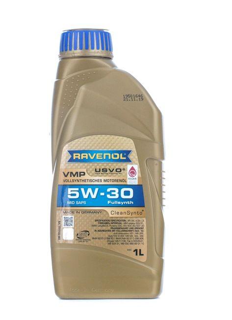 Olio auto 5W-30, Contenuto: 1l, Olio sintetico 100% EAN: 22108314083838408383