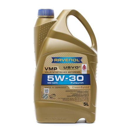 Olio auto 5W-30, Contenuto: 5l, Olio sintetico 100% EAN: 22108314083842408384