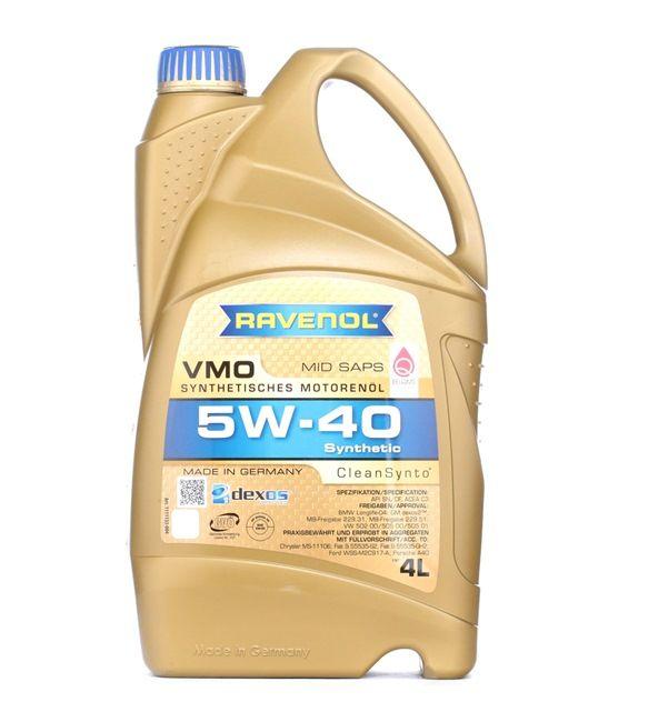 Olio auto 5W-40, Contenuto: 4l, Olio sintetico EAN: 22108314083903408390
