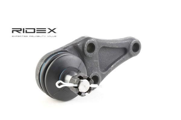 RIDEX Podpora- / Kloub Přední náprava - oboustranný, tlačítko