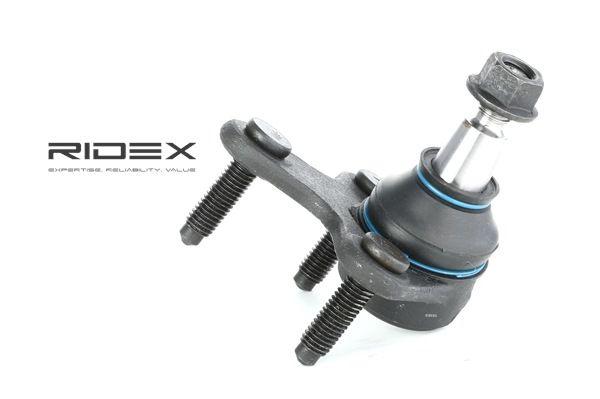 RIDEX Vorderachse rechts, mit Befestigungsmaterial 2462S0138