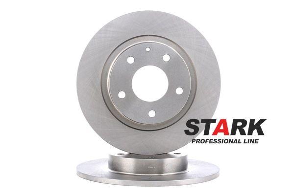 Brake disc kit MAZDA 6 Saloon (GJ, GL) 2014 year 8235601 STARK Solid