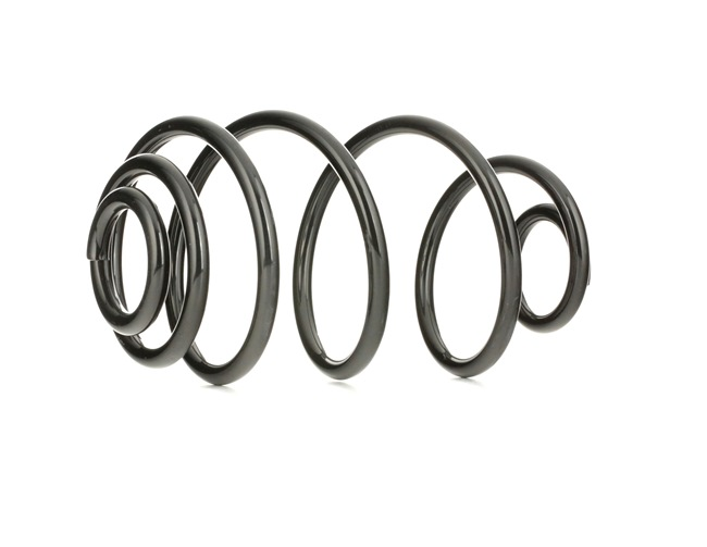 Coil springs RIDEX 8248362 Rear Axle, for vehicles with sports suspension