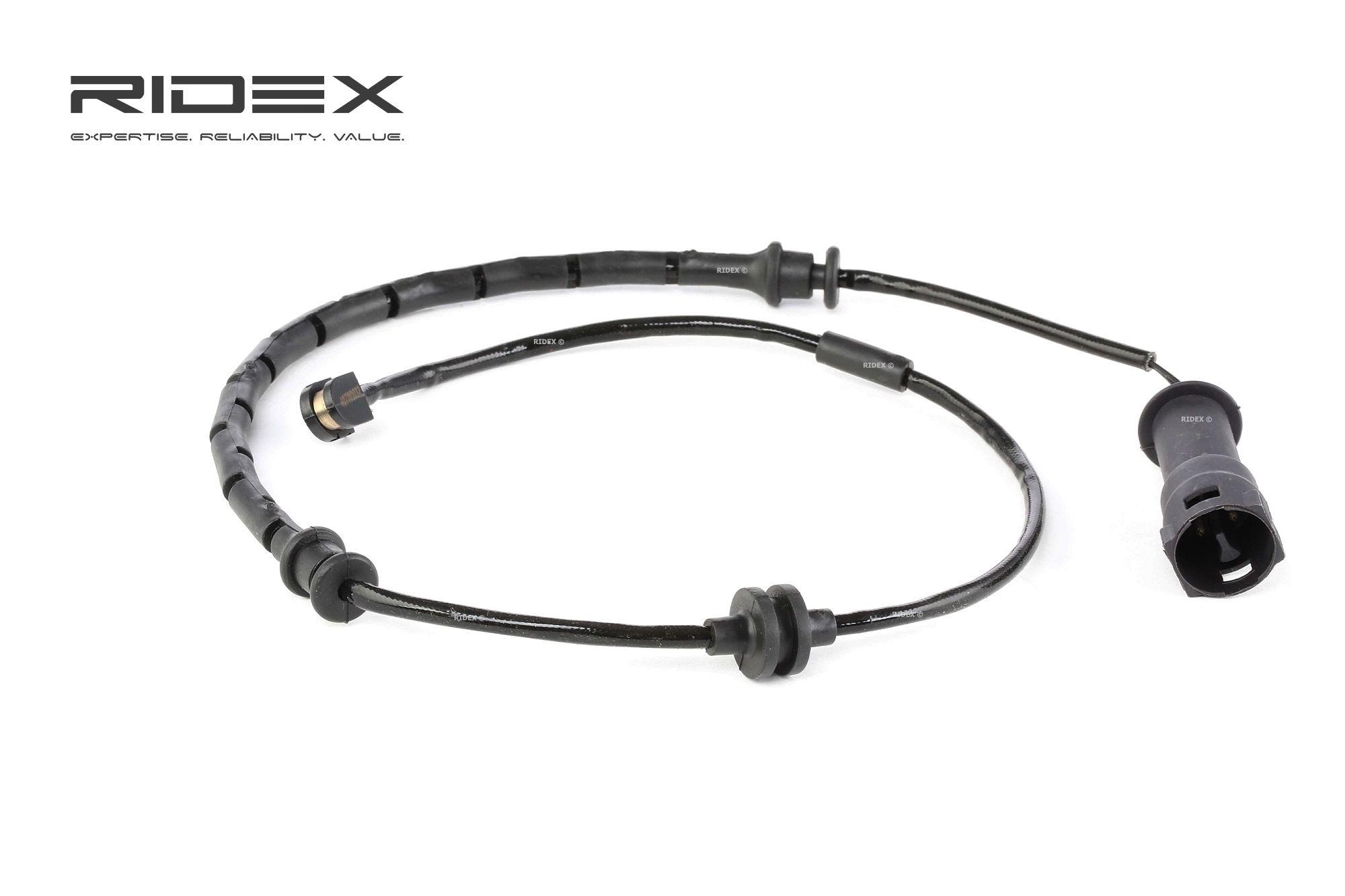 Contacto de aviso, desgaste de los frenos RIDEX 407W0032 evaluación