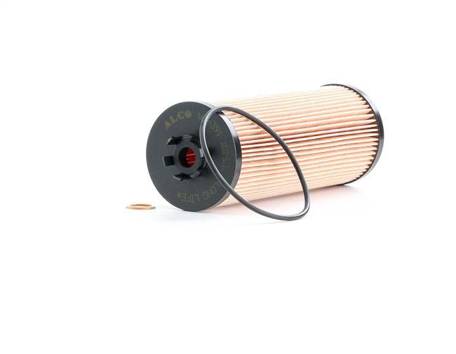 Ölfilter Innendurchmesser 2: 35,0mm, Innendurchmesser 2: 14,0mm, Höhe: 197,0mm mit OEM-Nummer 059115561A