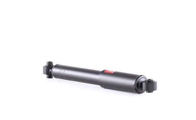 Amortiguador KYB 828616 Eje trasero, Bitubular, Presión de gas, Amortiguador telescópico, Anillo superior, Anillo inferior