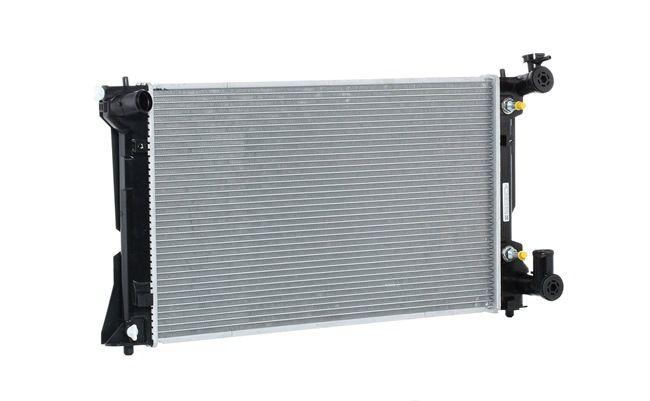 RIDEX Aluminium, Kühlrippen gelötet, ohne Rahmen 470R0103