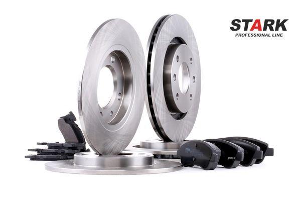 Brake Set, disc brakes Ø: 266mm, Brake Disc Thickness: 22mm, 8mm with OEM Number 1612293980