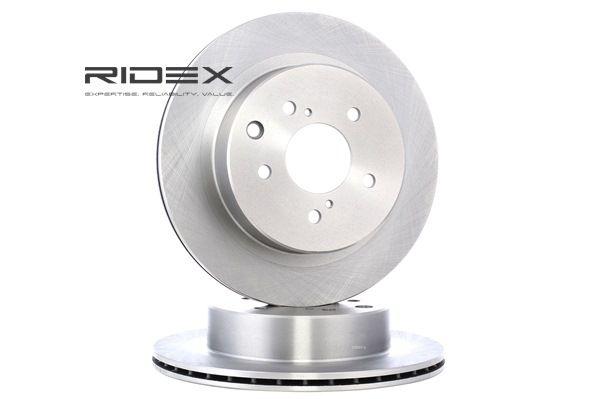 RIDEX Hinterachse, belüftet 82B1274