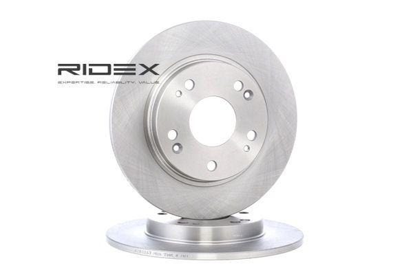 RIDEX Hinterachse, Voll, ohne Radbefestigungsbolzen, ohne Radnabe 82B1267