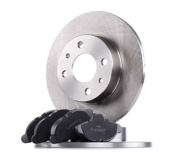 Brake Set, disc brakes SKBK-1090318 PANDA (169) 1.2 MY 2017