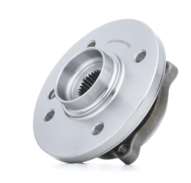 GSP Vorderachse beidseitig, mit integriertem ABS-Sensor 9326026