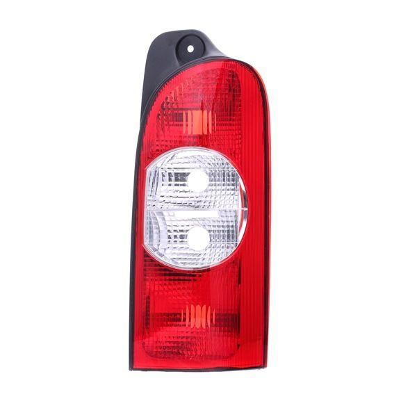 ABAKUS Zadní světla OPEL pravá, bez držáku žárovky, bez žárovky, P21/5W, P21W, PY21W