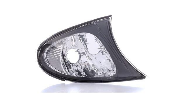 ABAKUS Luz intermitente BMW derecha, sin portalámparas, sin bombilla, blanco
