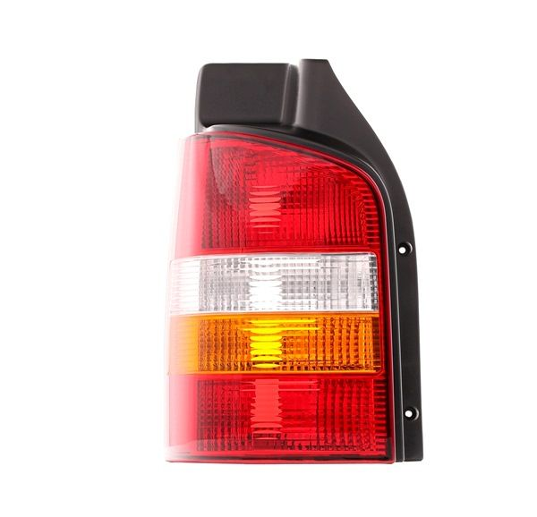 Rear lights ABAKUS 8356550 Left, without bulb, without lamp base, P21/4W, P21W, PY21W