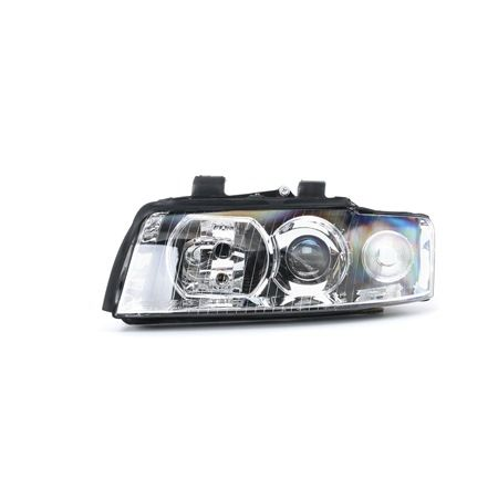 ABAKUS Přední světlomet AUDI levá, H7/H7, bez servomotoru pro regulaci sklonu světlometu, s držákem žárovky