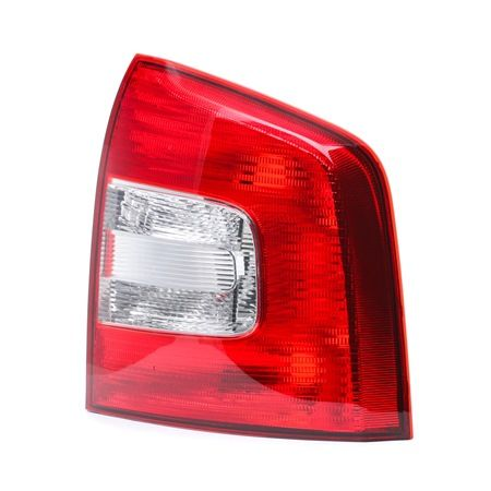 Rear lights ABAKUS 8365300 Right, without bulb, without lamp base, Outer section, P21W, PY21W