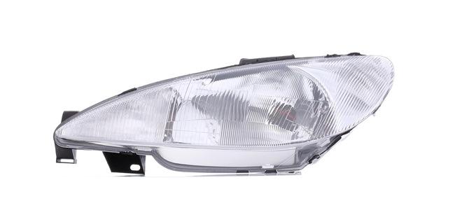 Headlamps ABAKUS 8365728 Left, H4