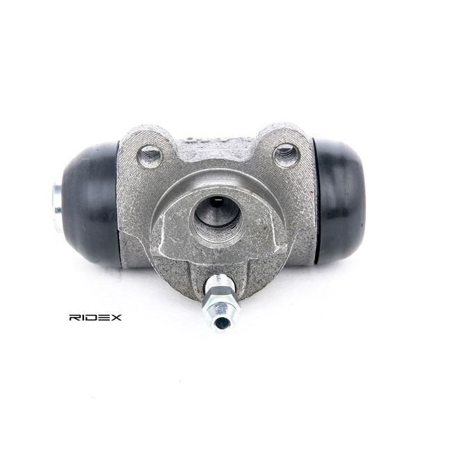 Brake drums and shoes RIDEX 8377948 Rear Axle left and right, with breather valve