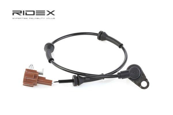ABS sensor RIDEX 8378055 Rear Axle Left