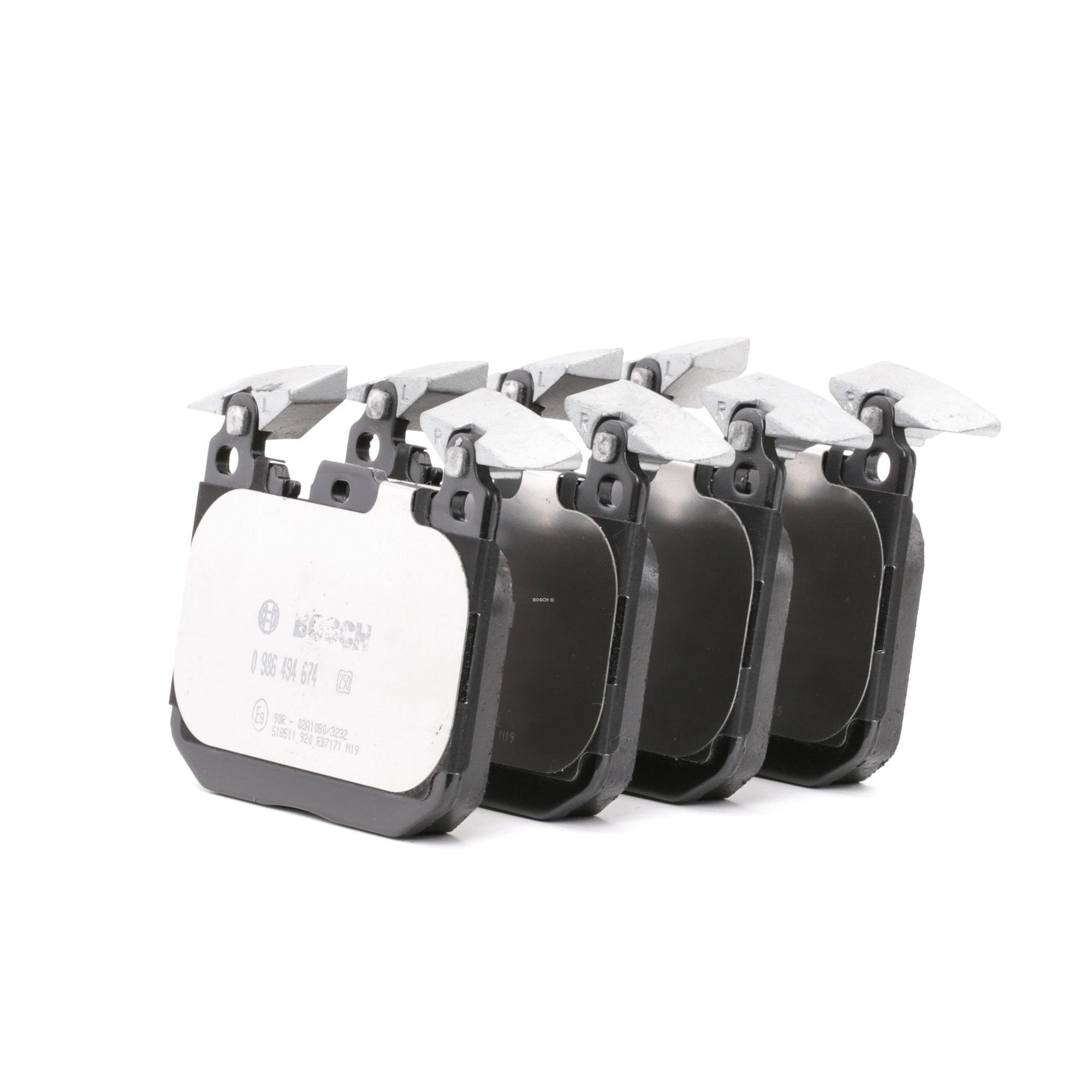 Bremsbelagsatz BOSCH E990R02A10803232 Bewertung