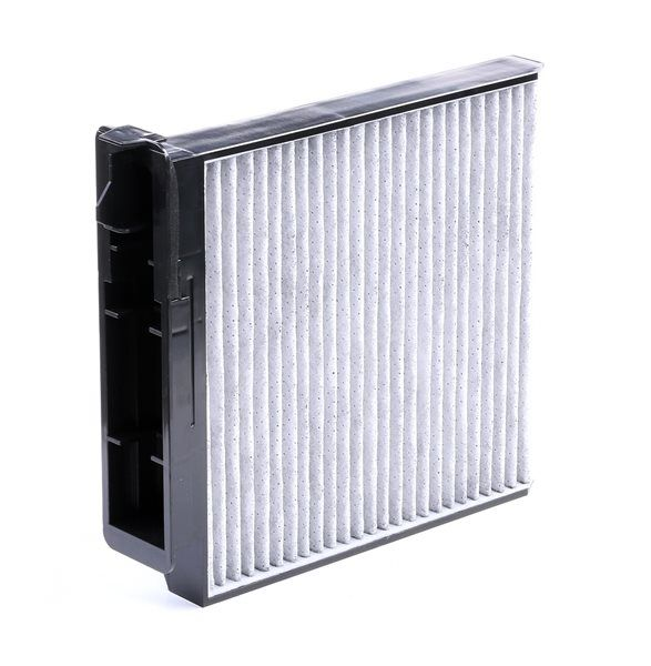 Cabin filter BOSCH A8502 FILTER+, Charcoal Filter, Particulate filter (PM 2.5), with anti-allergic effect, with antibacterial action