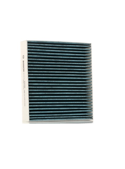 Cabin filter BOSCH A8540 FILTER+, Charcoal Filter, Particulate filter (PM 2.5), with anti-allergic effect, with antibacterial action